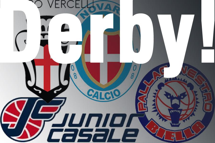 Due derby questo fine settimana nel Piemonte Orientale