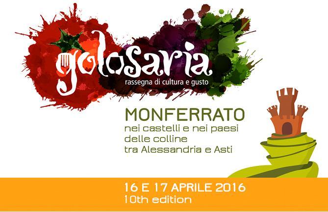 Golosaria, rassegna di cultura e gusto in Monferrato