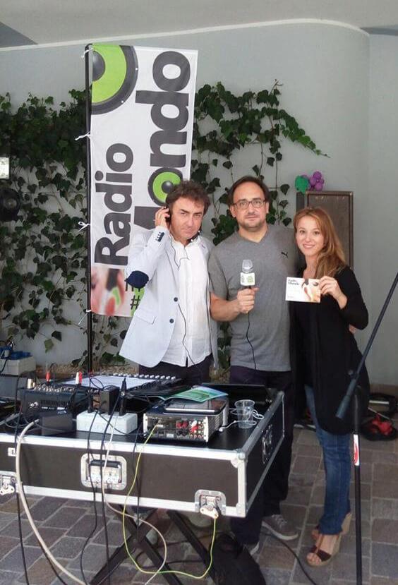 Cristiano, Piero e Noemi durante l'edizione 2015