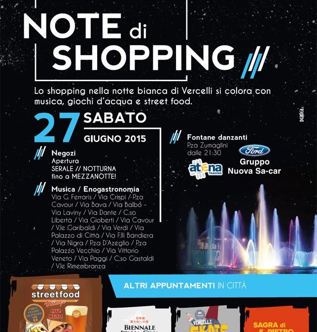 Notte Bianca a Vercelli il 27 Giugno