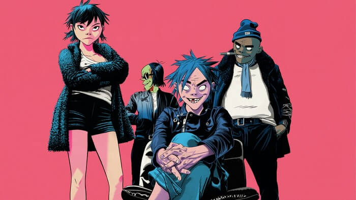"""The Now Now"", il nuovo album dei Gorillaz"