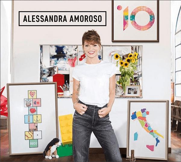 """Alessandra Amoroso, """"10/IO"""": nuovo album in uscita il 5 ottobre 2018"""