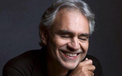 Andrea Bocelli,il nuovo disco primo in classifica anche negli States